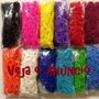 Rainbow Loom - Pct C/100 Elásticos Coloridos (várias Cores)