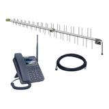 Kit Celular De Mesa 2 Chip 2g 3g 4g Aquário Antena Externa