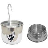 Bebedouro Para Gato Tipo Fonte Em Alumínio.