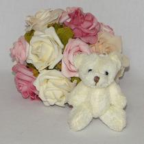 10 Chaveiros Lembrancinhas Mini Ursinhos De Pelúcia - 8cm