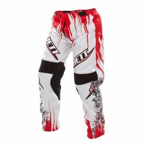 Calça Motocross Jett Veneno Branca Enduro Trilha