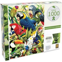Quebra-cabeça Puzzle Grow Aves 1000 Peças
