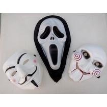 Máscaras V De Vingança Anonymous , Jigsaw E Pânico
