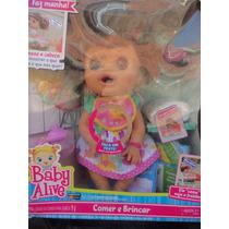 Boneca 2 Baby Alive Comer E Brincar -brincalhona Diferentes