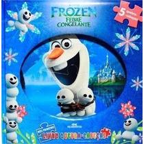 Frozen Febre Congelante - Meu Primeiro Livro Quebra Cabeça