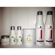 Duktoush Escova Caviar Premium Selagem Termica Kit Completo