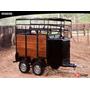Reboque Para Transporte De 1 Animal - Biner - Inmetro