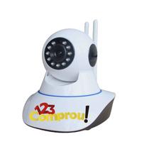 Câmera Ip Ir Wireless Visão Noturna Controle Via Internet