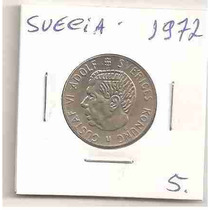 Ml-4340 Moeda Suécia (1 Kr) 24mm 1972