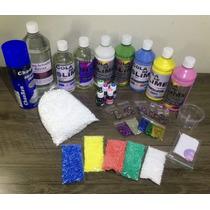 Kit Para Fazer Todo Tipo De Slime Grande - Ler A Descrição