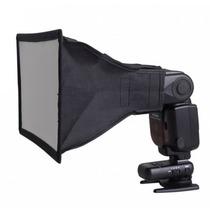 Difusor Softbox Universal Flash Soft Box 17x15cm Canon Nikon