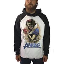 Blusa Moletom Asking Alexandria Camisetas Bandas Rock Metal