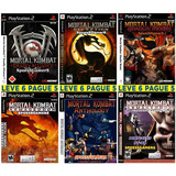 Mortal Kombat Collection (6 Jogos) Patch Ps2 Desbloqueado