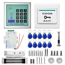 Kit Sistema De Controle De Acesso Rfid Senha Cartão Mjpt015