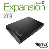 Hd Externo 2tb 2000gb Seagate Expansion Usb 3.0 - Original