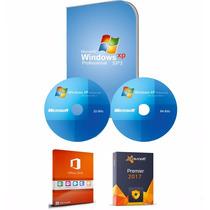 Cd Formatação Windows Xp 32/64 + Office