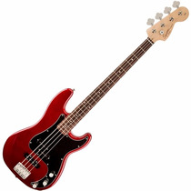 Contrabaixo Fender Squier Affinity Precision Jazz Bass Red