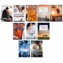 Kit 10 Livros - Coleção Nicholas Sparks - Frete Grátis