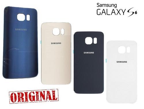 Tampa Traseira Galaxy S6 G920 Vidro Fundo - 100% Original