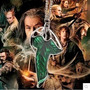Colar O Hobbit O Senhor Dos Anéis Folha Verde Elfo