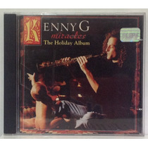 Cd Kenny G - Miracles - The Holiday Album - 1994 - Arista