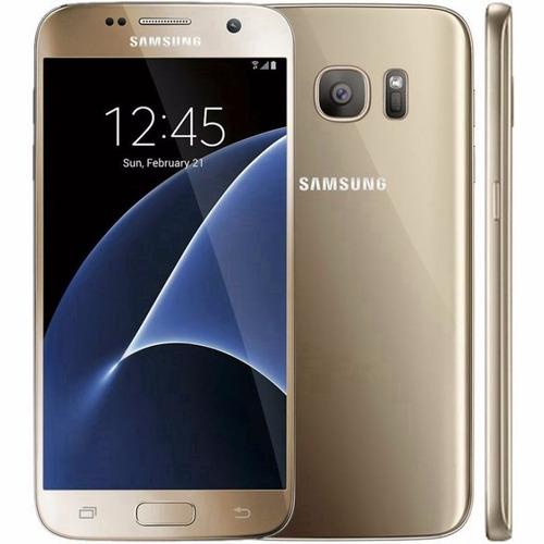 Samsung Galaxy S7 G930f 1sim Lte Tela Quad Hd 5.1 32gb Gold