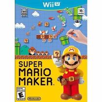 Jogo Novo Lacrado Super Mario Maker Para Nintendo Wii U