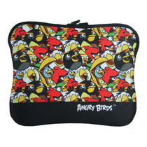 Case Capa Porta Ipad Tablet 14 Santino Angry Birds Neoprene