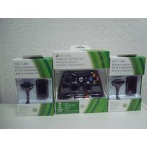 Controle Xbox360semfio100% Original+2 Baterias Recarregáveis