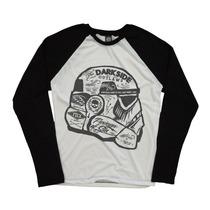 Camiseta Blusa Manga Longa Darth Vader Personalizada