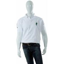 Camisa Polo Style Modelo Básico Branco Horse