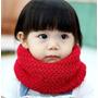 Gola Cachecol Infantil Criança Bebe Inverno