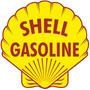 Adesivo - Shell Gasoline