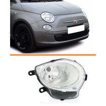 Farol Fiat 500 08 09 2010 2011 2012 2013 Inferior Direito