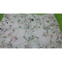 Shorts Jeans Florido Feminino 38
