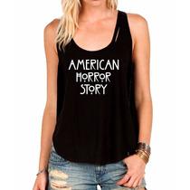 Regata American Horror History Camiseta Regata Feminina