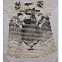 Blusa T Shirt Feminina John John Original Tenho Pit Bull