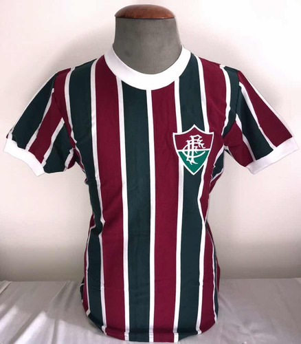 Camisa Fluminense Retro Anos 1970 Oficial Athleta + Autentic ac57709f94460