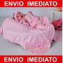 Kit Saída De Maternidade / Hospital Rosa Floral - Menina