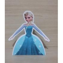 Caixa Corpo Vestido Frozen Para Doces