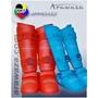 Protetor Canela E Pe Arawaza-wkf Approved Gg Azul