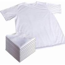 Kit 20 Camisetas Infantil Para Sublimação