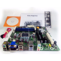 Placa Mãe Chipset Intel H61 Lga 1155 Ddr3 16gb Pcware Hdmi