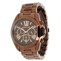 Relógio Michael Kors Mk5628 Brown Chocolate - Completo