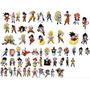 1200 Vetores Cartoon E Anime Estampas Sublimação Camiseta