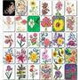 Matriz De Bordado 200 Flores E Rosas Incriveis Em Pes, Jef