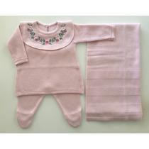 Busca saida maternidade trico com os melhores preços do Brasil ... 31084a4ecd8