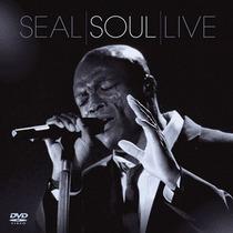 Kit Dvd + Cd Seal - Soul Live * Lacrado * Raridade Original