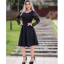 d1479b582b Vestido Evangélico Renda Moda Jovem Roupas Femininas à venda em São ...