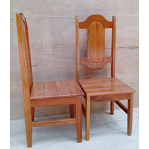 Cadeira Para Mesa De Cozinha Em Madeira Maciça Angelim Pedra